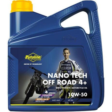 _Putoline Off Road 4 Takt Nano Tech Öl 4+ 10W-50 Oil 4 Liter | PT74031 | Greenland MX_