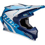 _Thor Sector Ricochet Helm Blau | 01105160-P | Greenland MX_