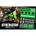 _4MX Aufkleber Set Kawasaki | 01KITA606KW | Greenland MX_