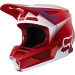 _Fox V2 Vlar Helm Flame Red | 24264-122 | Greenland MX_
