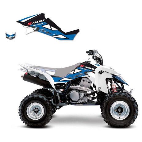 _Blackbird Dream 2 Aufkleber Kit Suzuki LTZ 400 03-10 Weiß | 2Q04A-01 | Greenland MX_