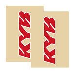 _Tj Vinyl Gabelschutz Aufkleber Kayaba Rot | TJFSKYBRD | Greenland MX_