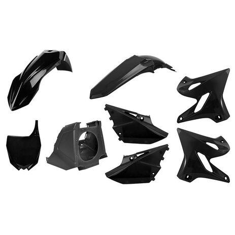 _Kunststoffteilekit Polisport Restyling Yamaha YZ 125/250 02-14 bis 15-18 Schwarz | 90718 | Greenland MX_