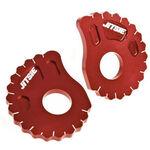 _Jitsie Beta Evo Kettenspanner 00-16 Gas Gas TXT/Pro 96-06 Montesa 4RT 97-16 Sherco Trial 01-16 Rot   JI611-2021R   Greenland MX_