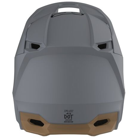 _Fox V1 Matte Helm Grau | 25475-224 | Greenland MX_