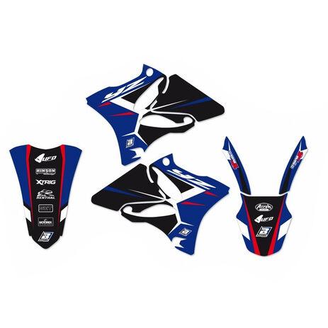 _Blackbird Aufkleber Kit Dream 4 Yamaha YZ 125/250 02-14 | 2231N | Greenland MX_