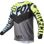Fox 180 Trice Kinder Jersey Grau YL, , hi-res
