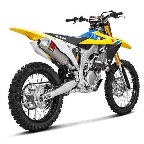_Akrapovic Evolution Komplettauspuff Suzuki RMZ 450 18-20 | S-S4MET11-BNTA | Greenland MX_