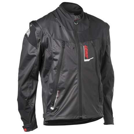 _Leatt GPX 4.5 Lite Jacke Schwarz /Grau   LB5018700100-P   Greenland MX_