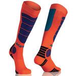 _Acerbis MX Impact Socken Orange /Blau | 0021633.204.00P | Greenland MX_