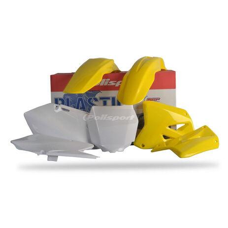 _Polisport Plastik Kit Suzuki RM 125/250 01-08 | 90095 | Greenland MX_