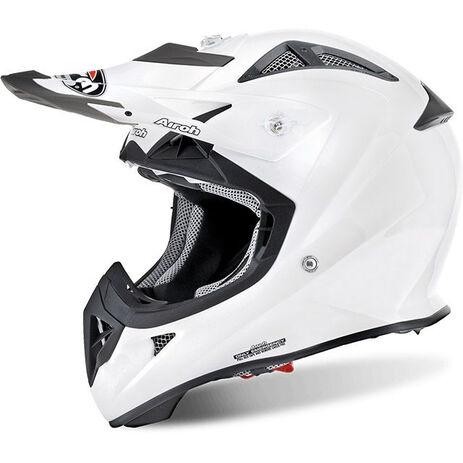 _Airoh Airoh J. White Gloss Helm Kind | AVJ14 | Greenland MX_