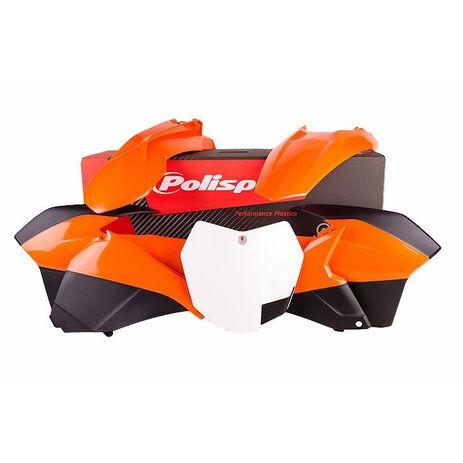 _Polisport Plastik Kit KTM EXC/EXCF 14-16 | 90620 | Greenland MX_