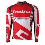 _Hebo Trial Race Pro II Jersey Rot XL | HE2172RXL | Greenland MX_