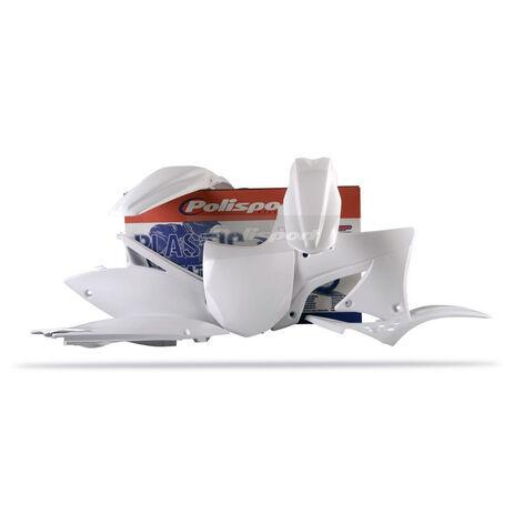_Polisport Plastik Kit Kawasaki KX 450 F 09-11 Weiß | 90217 | Greenland MX_