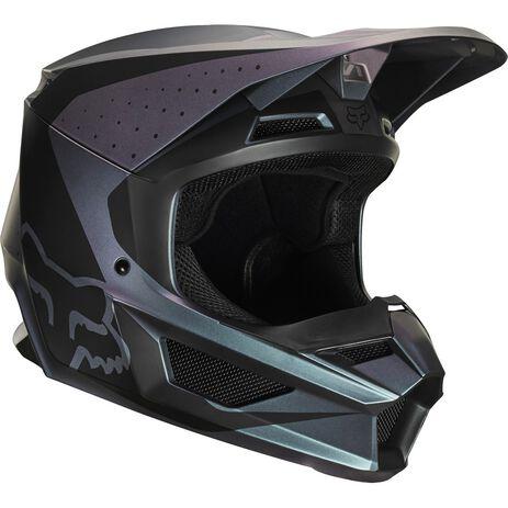 _Fox V1 Weld Special Edition Helm Schwarz | 25470-603 | Greenland MX_
