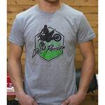_GMX Dirt Passion T-Shirt Grau   PU-TGMXDPGY   Greenland MX_