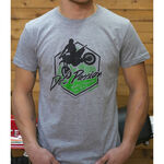 _GMX Dirt Passion T-Shirt Grau | PU-TGMXDPGY | Greenland MX_