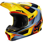 _Fox V1 Motif Helm | 21775-005-P | Greenland MX_