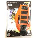 _Blackbird Sitzbankbezug KTM EXC/EXC-F 12-16 SX/SXF 11-15 Zebra Schwarz-Orange | BKBR-1521Z | Greenland MX_