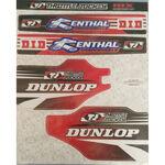 _TJ Suspension Aufkleber Kit Honda CR/CRF 95-16 | SKCRCRF | Greenland MX_