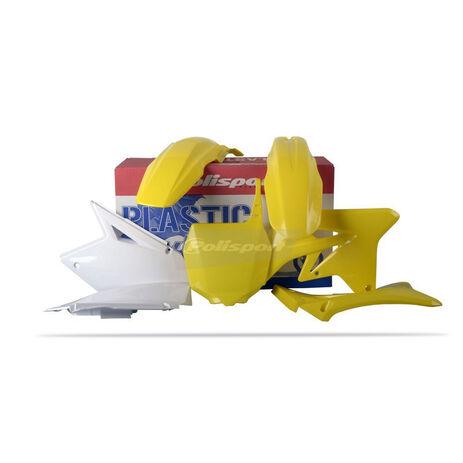 _Polisport Plastik Kit Suzuki RMZ 250 07-09 | 90123 | Greenland MX_