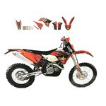 _Blackbird Aufkleber Kit KTM EXC 14-16 SX/SX-F 13-15 | 2538L | Greenland MX_