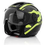 _Acerbis X-Jet On Bike Helm 2016 Schwarz /Gelb | 0021662.318.00P | Greenland MX_