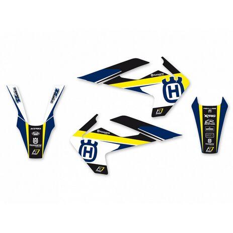 _Blackbird Dream 4 Aufkleber Kit HusqvarnaTC/FC 16-18 TE/FE 17-19 | 2612N | Greenland MX_