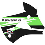 _TJ Kühlerflügel Aufkleber Kit Kawasaki KX 85 01-13 | KKX85 | Greenland MX_