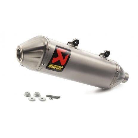 _KTM EXC-F 450/500 17 Husqvarna FE 450/501 17 Akrapovic Slip-On Enddämpfer | 79405979100 | Greenland MX_