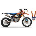 _Komplett Aufkleber Kit Go Pro KTM EXC 17-19 New Black Edition | SK-KT17GP19RBBKN | Greenland MX_