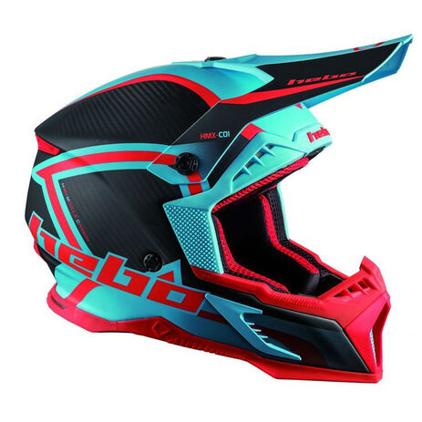 _Hebo MX Legend Carbon Helm | HC0550TU | Greenland MX_