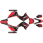 _Komplett Aufkleber Kit Restyling Polisport Honda CR 125/250 R 02-07 | SK-CR1225PLRKBKRD-P | Greenland MX_