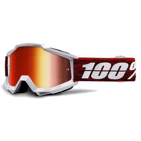 _100% Brillen Accuri Graham Red Mirror | 50210-285-02 | Greenland MX_
