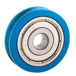 _Jitsie Throttle Pulley with Roller Blue | JI611-4621B | Greenland MX_