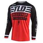 _Jersey Troy Lee Designs GP Air Bolt Rot | 304190000 | Greenland MX_