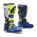 _Forma Predator 2.0 Stiefel Gelb Fluo/Weiß/Blau | FORC520-789811-P | Greenland MX_