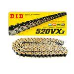 _DID VX3 ZB 520 118 Glieder Verstärkte Kette mit Abdichtung Goldserie | CD520VX3GL118ZJ-P | Greenland MX_