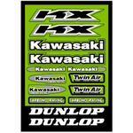 _Kawasaki Aufkleber Set | GK-80412 | Greenland MX_
