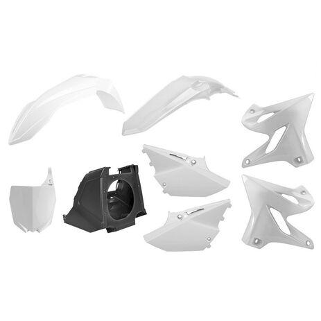 _Kunststoffteilekit Polisport Restyling Yamaha YZ 125/250 02-14 bis 15-18 Weiss | 90717 | Greenland MX_