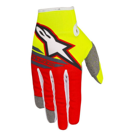_Alpinestars Radar Flight Handschuhe Gelb Fluo/Rot | 3561818-539-P | Greenland MX_