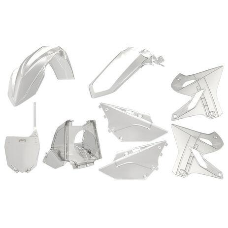 _Polisport Plastik Kit Restyling YZ 125/250 02-18 Transparent | 90773 | Greenland MX_