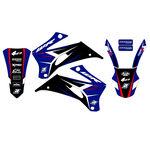 _Blackbird Dream 4 Aufkleber Kit Yamaha WR 250 F 07-14 WR 450 F 07-11 | 2234N | Greenland MX_