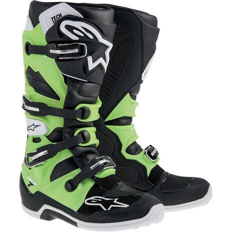 _Alpinestars Tech 7 Stiefel Green/Black | 2012014-16 | Greenland MX_