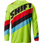 _Shift Weiß Label Tarmac Youth Jersey Gelb Fluo M | 17219-130-M | Greenland MX_