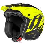 _Trial Jitsie HT2 Airtime Helm Fluo Gelb/Black | JI14HT2-5545 | Greenland MX_