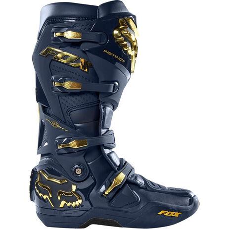 _Fox Instinct Limited Edition Stiefel Navy/Gold | 24277-156 | Greenland MX_