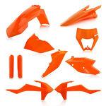 _Acerbis Plastik Full Kit KTM EXC/EXC-F 17-19 Orange 16   0023591.011.016-P   Greenland MX_