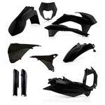 _Acerbis Plastik Full Kit KTM EXC/EXC-F 14-15 Schwarz | 0017204.090-P | Greenland MX_